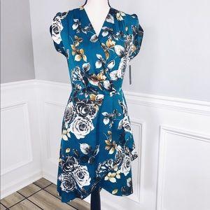 Rachel Rachel Roy Pierce Floral  Hi-Lo Dress